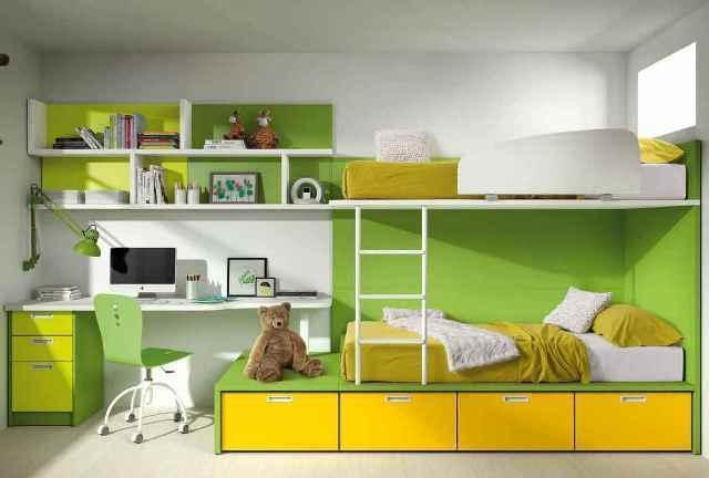 3 claves en la decoraci n un dormitorio juvenil for Muebles de dormitorio infantil